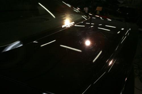 トランク洗車傷508